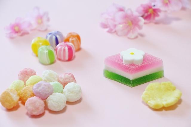 ひな祭りは、和菓子がより楽しめる時期ですよ!