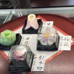 和菓子屋さんは、春爛漫♪和菓子は目も口も身体も元気にしてくれるよ!